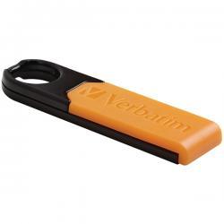 Verbatim Store 'n' Go Micro Plus 8 GB USB 2.0 Flash Drive Orange - (VTM-97761)