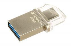 Verbatim OTG Micro USB 3.0 Flash Drive (32GB) - (VTM-49826)