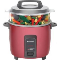 Panasonic Rice Cooker SR-Y 22FHS Red 2.2L