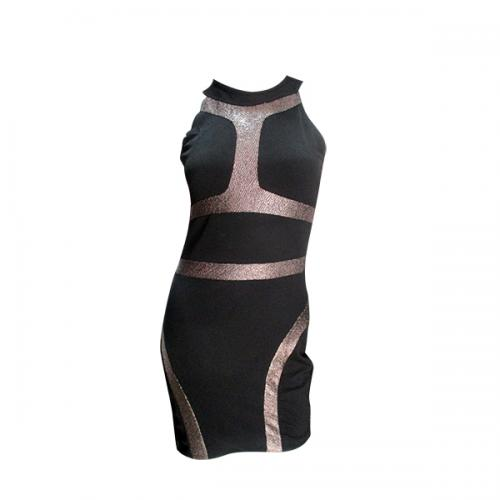 Dark Black Designed Party Wear For Ladies - (NP-060)