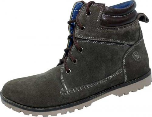 Coffee Colored Stylish Men's Boot (SS-M299)
