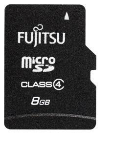 Fujitsu MicroSD Card - 8GB