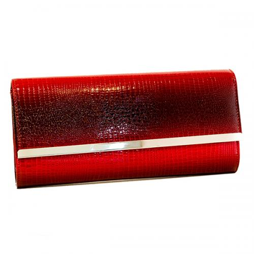 PERLITA Red Fashionable Ladies Clutches - (PER-0001)