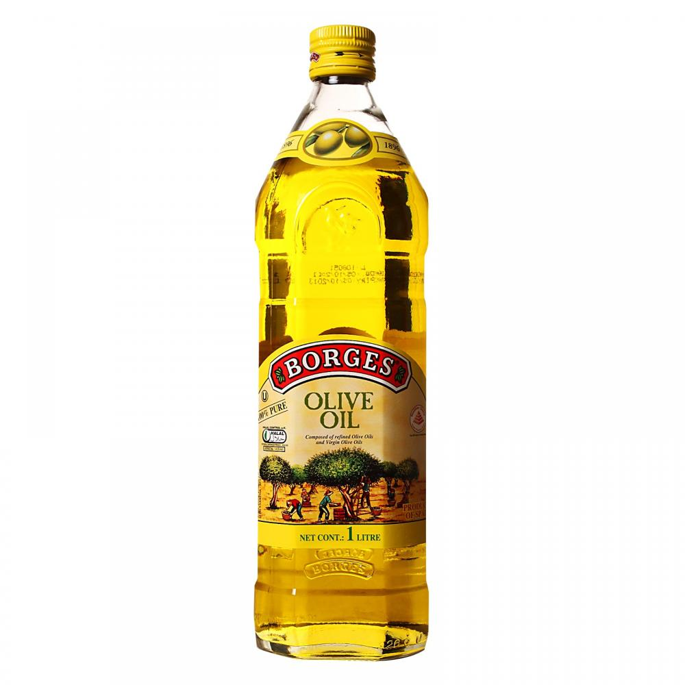 Borges Olive Oil Pure (Glass) - 1000ml