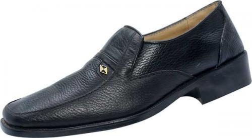 Black Leather Shoe (SS-M186)