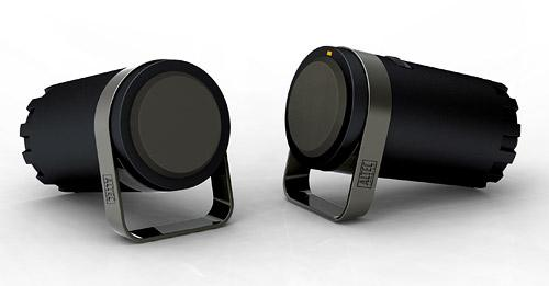 USB-powered speaker system