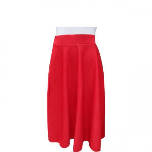 Red Fryll Skirt For Ladies - (NP-WS-028)