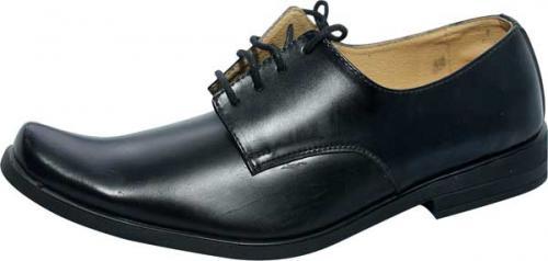Light Black College Shoe (SS-M216)