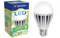 Verbatim LED Bulb Classic A E27 6W 410lm 5800K CW (64217)