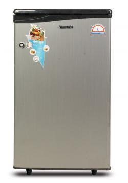 Yasuda Refrigerator (YVDR-80SH) -Silver Hairline