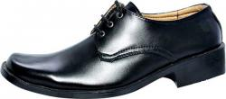 Smart Black College Shoe (SS-M178)