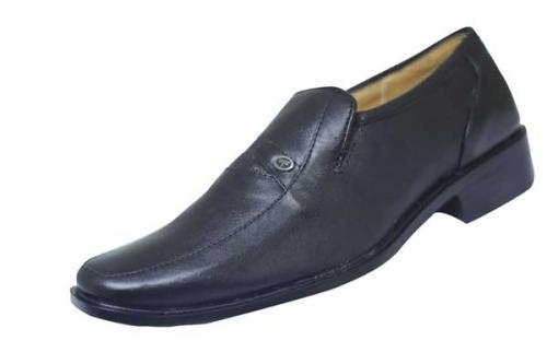 Stylish Black Leather Shoe (SS-M2789)