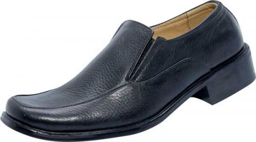 Black Leather Shoe (SS-M103)