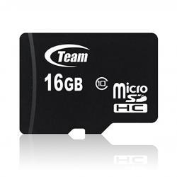 16GB Class 10 Micro SDHC Team High Speed Memory Card - (SDHC-16GB)