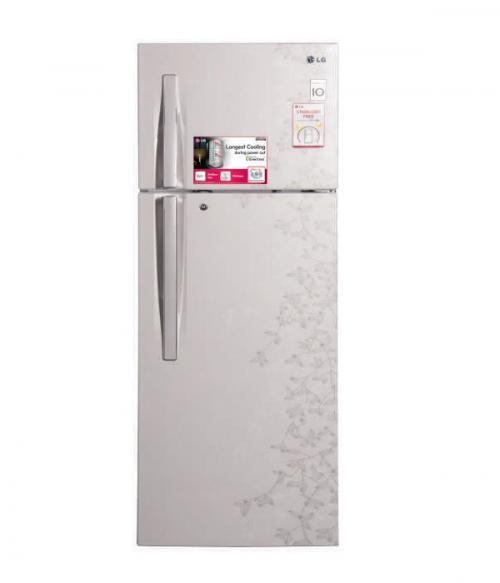LG Double Door Refrigerator (GL-E322RPVC) - 310Ltr