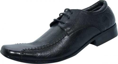Party Style Black Leather Shoe (SS-M2795)