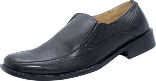 Black Leather Shoe (SS-M2740)
