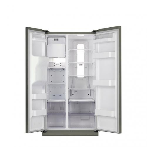 Samsung Side By Side Refrigerator - (RS21HZLMR)