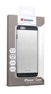 Verbatim iPhone 6 Plus Aluminium Case - Silver - (VTM-64735)