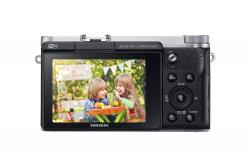 Samsung Wireless Smart 20.3MP Mirrorless Digital Camera - (NX3000)