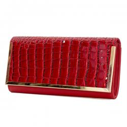 PALOMA Royal Red Purse For Ladies - (PALOMA-0002)