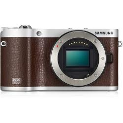 Samsung Mirror less Digital Camera Body Brown - (NX300)