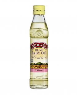 Borges Olive Baby Oil (Glass) - 250ml