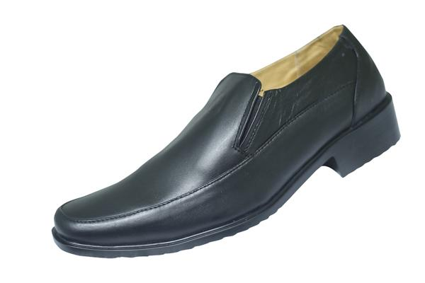 Simple Black Leather Shoe (SS-M27019)