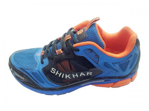 High Class Shikhar Shoe Orange Sport Shoes For Men (SS-5722) - 3 Color Options