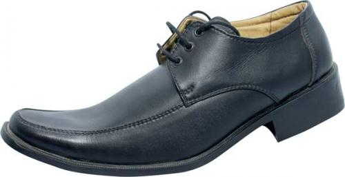 Black Leather Shoe For Man (SS-M183)