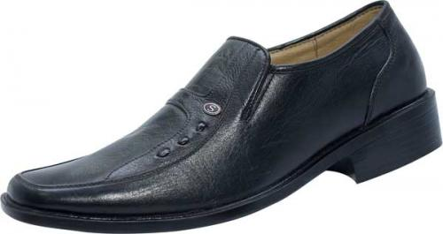Black Leather Shoe (SS-M27015)