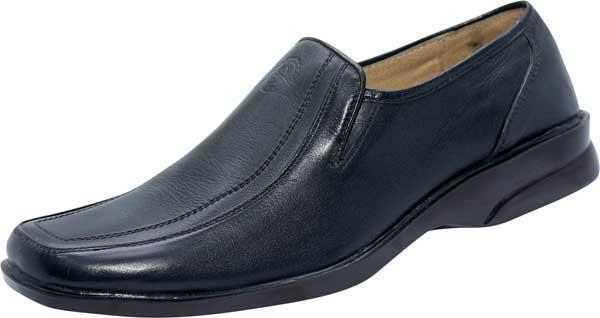 Designing Black Leather shoe (SS-M2768)