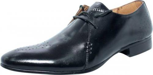 Simple Black Leather Shoe (SS-M2788)