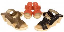 Iolanda Ladies Wedge Sandal - (SAH-022)