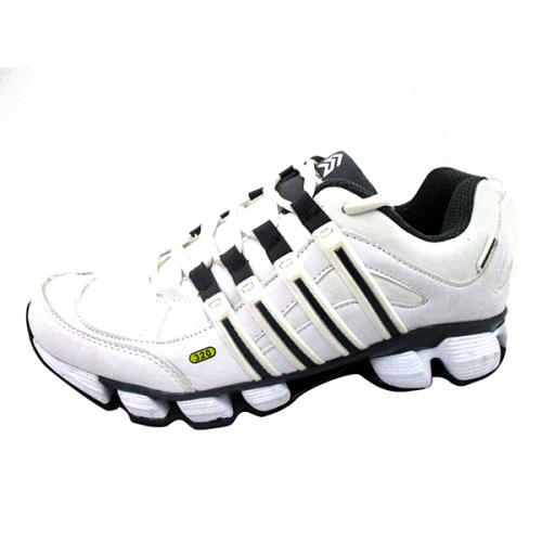 White & Black Sports Shoes for Men - (SS-014)