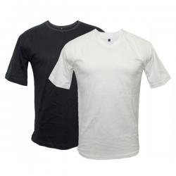 Men's Round Neck Pack Of 2 Plain T-Shirts - (BASTRA-001)