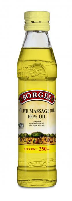 Borges Oilve Massage Oil (Glass) - 250ml