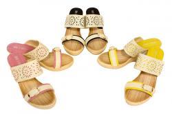 Isidora Ladies Wedge Sandal - (SAH-019)