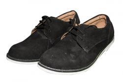 Black Shawer Casual Shoe (TK-PRT-014)