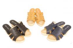 Immacalata Ladies Wedge Sandal - (SAH-021)