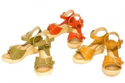Isotta Ladies Wedge Sandal - (SAH-018)