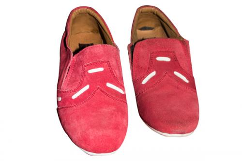Fish Style Red Casual Shoe (TK-PRT-008)