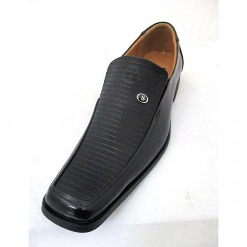 Comfortable Black Formal Shoes for Men - (SS-009)
