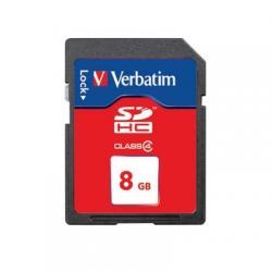 Verbatim SDHC Card 8GB (Class 6).