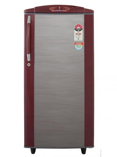 Yasuda Refirgerator (YVDS190WT) Wine Two Tone - 190Ltr
