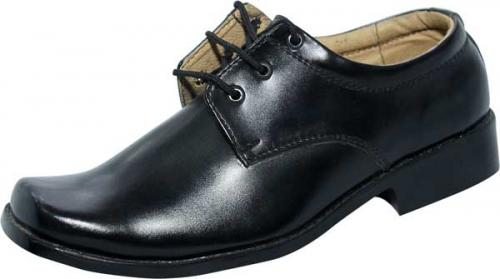 Light Black Color School Shoe (SS-M737) - Available Different Size