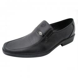 Foot & Style Black Formal Shoes for Men - (SS-007)