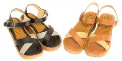 Iliena Ladies Wedge Sandal - (SAH-015)