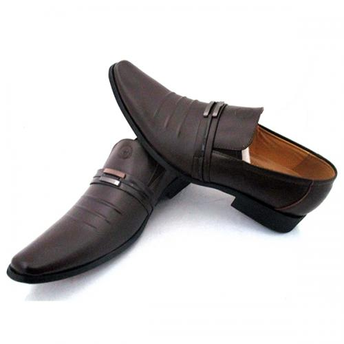 Brown Fashionable Formal Shoes for Men - (SS-005)