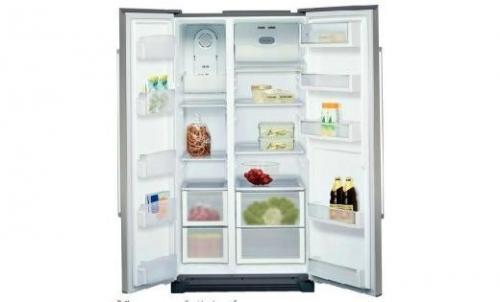 Samsung SBS Refrigerator - (RS21HSTWA)
